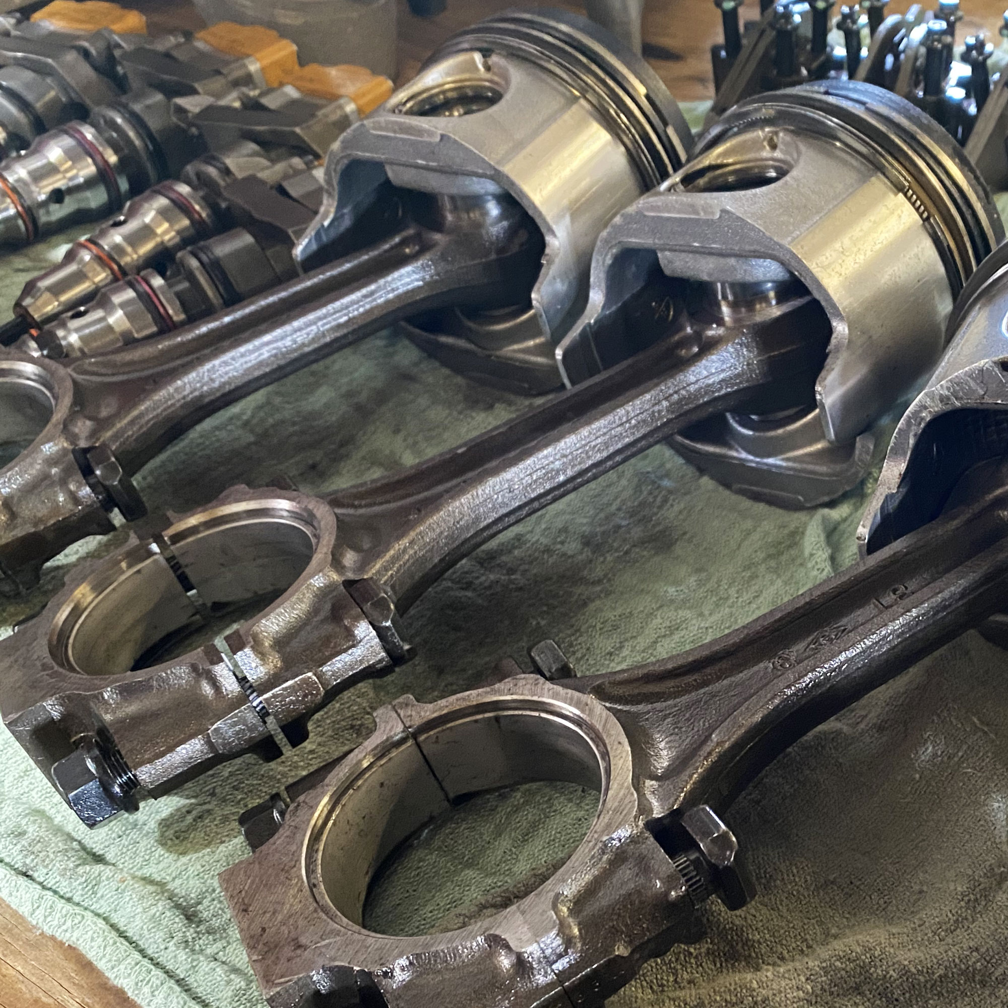 pistons and rods